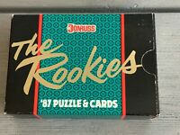 "1987 Donruss ""The Rookies"" Sealed Baseball Card Set McGwire, Maddux, Bo"