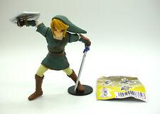"Yujin Legend of Zelda Twilight Princess Link 4"" gacha figure toy Japan gashapon"