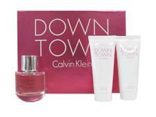 Calvin Klein DOWNTOWN 3.0 Oz EDP Spray + 3.4 Oz B/L, 3.4 Oz S/G for Women