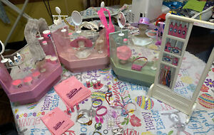 Barbie Dream Store Fashion Department Set With Extra Counter Accessories Jewelry