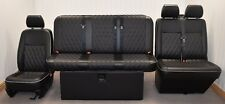 STREAMLINE FULL WIDTH M1 ROCK N ROLL BED + VW T5 FRONT SEAT UPHOLSTERY (406D-DD)