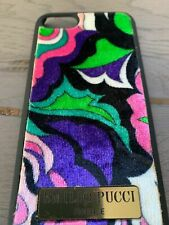EMILIO PUCCI APPLE IPHONE 7 8 HANDY TASCHE BAG COVER SCHUTZ HÜLLE CASE ETUI OVP