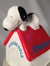 Vintage - Peanuts - Superbeagle Snoopy - Musical Figurine - W/ Box