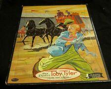 Walt Disney Productions Toby Tyler Puzzle Whitman 1960 Runaway Circus Clown