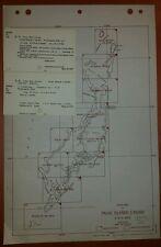 1944 US Army Map Palau Islands 1:40,000 AMS W752 Angaur Peleliu