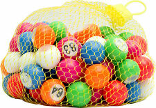 1-90 22mm Bingo Balls for Bingo Cage Machine Or Check Tray