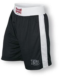 Contest Boxerhose von Paffen Sport, schwarz. Boxhose, Boxen. Größen XS - XXL