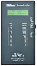 Acoustimeter AM-10 RF Detector Microwave Meter RF Meter EMF Protection FREE SHIP