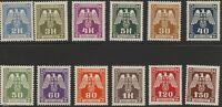 Stamp Germany Bohemia Czech Official Mi 13-24 1940 WWII War Era MNH