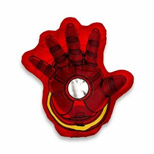 Marvel Avengers Iron Man Repulsor Hand Pyjama Cushion Shaped 3D Novelty Gift