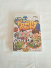 Family Party: 30 Great Games (Nintendo Wii, 2008) - European Version