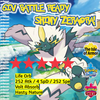SHINY ZERAORA | 6IV | Pokemon Sword and Shield | BATTLE READY | LEGITIMATE