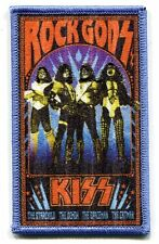 KISS Rock Gods EMBROIDERED IRON-ON PATCH p-4423 *Free Shipping* demon starchild