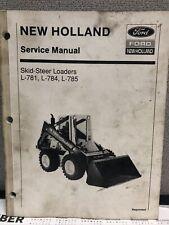 New Holland Operators Manual L781 784 785 Skid Steer Loader Original