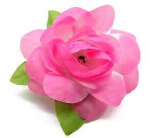 Hawaii Hair Clip Lei Party Luau Gardenia Flower Dance Beach Photo Light Pink