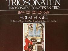 "CD "" Bach - Triosonaten Orgel BWV 525 526 527 528 "" # Holm Vogel / Schuke-Orgel"