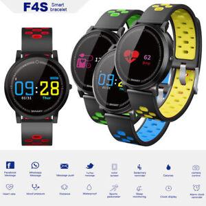 Bluetooth Smart Watch Heart Rate Blood Pressure Monitor Fitness Sports Bracelet