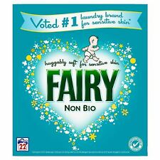 Fairy Non-Bio Laundry Washing Powder Detergent, Sensitive Skin, 1.43KG 22 Washes