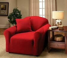 Jersey Fitted Slipcovers For Chair Sofa Couch Loveseat & Recliner Sizes Xx