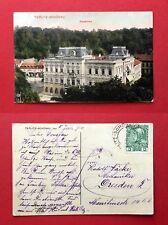 AK TEPLITZ SCHÖNAU 1910 Kaiserbad    ( 41092