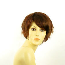 short wig for women brown copper wick light blond and red ref: ROMANE 33h PERUK