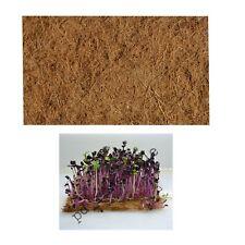 Microgreen Coconut Husk Natural Biodegradable Fibre Mat Various Sizes