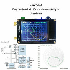 """NanoVNA Vector Network Analyzer HF VHF UHF Antenna 2.8"""" TFT Screen 50KHz-900MHz"""
