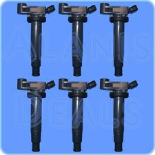 New Premium High Performance Ignition Coil Set (6) For Lexus & Toyota