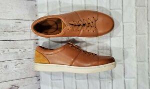 Clarks Kitna Walk Casual Shoes Cognac MENS SIZE 9.5
