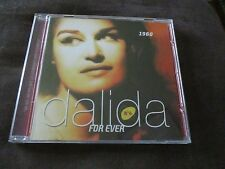 """CD """"DALIDA FOR EVER N°4, 1960"""" best of 26 titres"""
