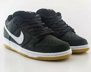 Nike SB Dunk Low Pro ISO Orange Label Athletic Shoes Skate Casual Black-White 🔥