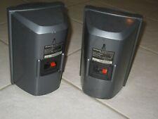4 SPEAKERS BOOKSHELF TYPE WIRED 150 WATT AIWA SX-R2500 GOOD CONDITION 2 PAIR
