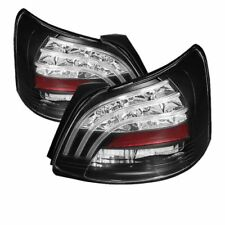Spyder Auto 5037640 LED Tail Lights (Black) Fits 07-09 Toyota Yaris 4Dr Sedan