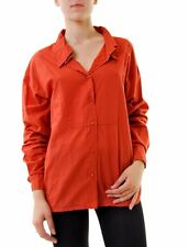 One Teaspoon Women's Clay Roudhouse Shirt Red Size 10 RRP$140 BCF611