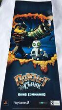 Ratchet and Clank Going Commando Metallic Poster