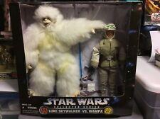 """Star Wars 12"""" Luke Skywalker and Wampa - 1997 Target Exclusive"""
