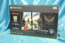 Microsoft Xbox One X 1TB Spielkonsole mit Tom Clancy's: The Division 2 Bundle (CYV-00319)