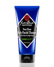 Jack Black Pure Clean Daily Facial Cleanser with Aloe and Sage Leaf 6 oz
