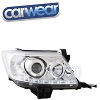 TOYOTA HILUX VIGO 11-15 CHROME LED DRL ANGEL EYE'S RINGS PROJECTOR HEAD LIGHTS