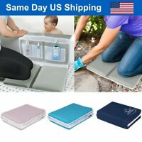 Baby Bath Kneeler Elbow Rest Kneeling Pad Bathtub Mat Toy Organizer Garden Work