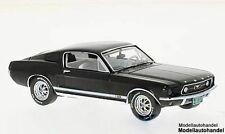 Ford Mustang GT Fastback 1967 - schwarz - 1:43 Ixo Premium X