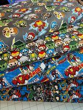 Marvel Heroes Villians 100% Cotton Fabric 1/2 Y 18
