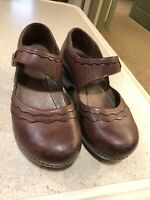 dansko 41 mary jane Brown Leather Shoes
