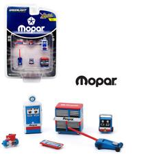 """""""Mopar Parts & Service"""" Shop Tool Accessories 6 Pc Set 1/64 Greenlight 16040 B"""