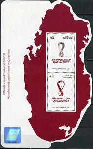 QATAR - 2021 - SOUVENIR SHEET MNH ** - Qatar 2022 World Football Cup