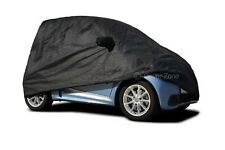Smart Fortwo 1998-2014 Indoor Fitted Black Indoor Car Cover