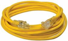 Coleman 2587SW8802 Extension Cord, 25ft, Yellow