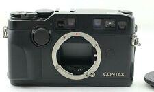 【 NEAR MINT 】 BLACK  Contax G2 35mm Rangefinder Film Camera From Japan