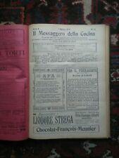 Il Messaggero della cucina  1912
