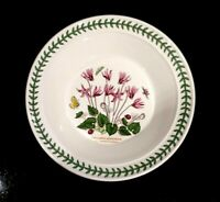 Beautiful Portmeirion Botanic Garden Ivy Leaved Cyclamen Rimmed Soup Bowl